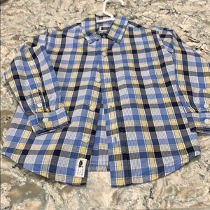 Janie & Jack button down shirt